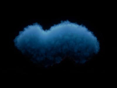 Space flame dynamics particles smoke design render cinema 4d 3d