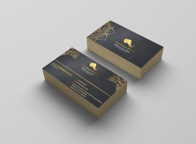 Elephant Rock business card