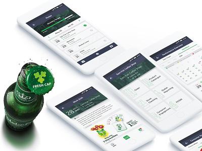 Carlsberg BA app design mobile app ux ui app uidesign visual design uxdesign carlsberg