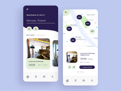DailyUI #022 - Search buy map houses real estate apartments rent search interface mobile daily ux app ui dailyui