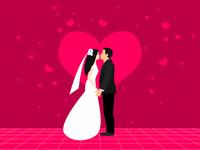 Wedding. I pronounce you man and wife
