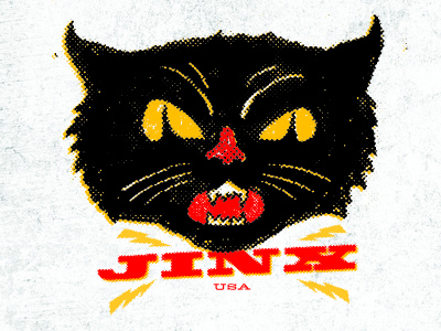 Jinx Logo  thinkmule logo black cat
