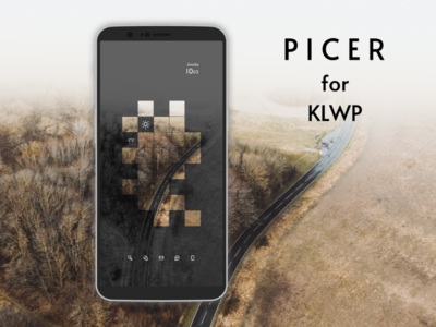 Picer - KLWP Theme