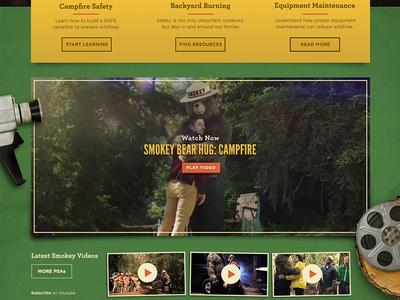 SmokeyBear.com - Rejected
