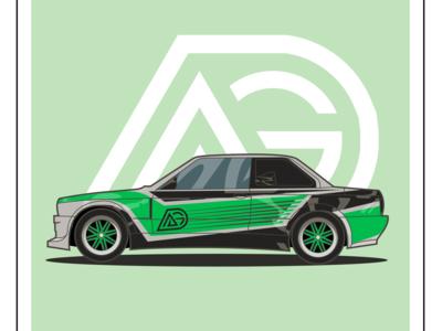 BMW M3 E30 Ahmed Garage Edition