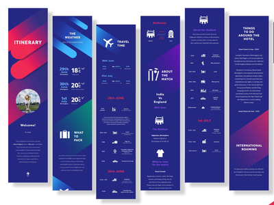 ICC World Cup 2019 Digital Customised Itinerary