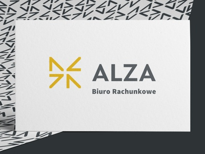 ALZA, logo design for an accounting office
