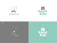 KocotKids.com, logo redesign brandglow peoducer children kids furniture redesign logo design rebranding logotype logo