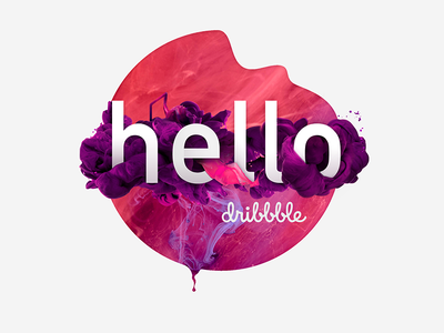 Hello! thanks haze violet purple illustration debut shot first
