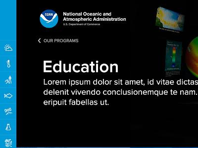 NOAA Website weather widget website science noaa