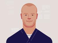 Portrait of Tim Ferriss
