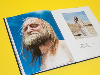 Master Degree Book for Eliska Kyselkova layout book photography portrait graphic design