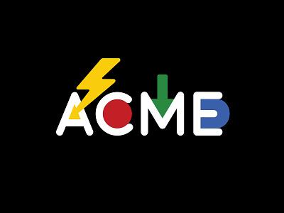 ACME Logo Final logo icons design graphic fanahshapeless acme