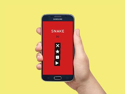 Snake Game design gaming ux ui graphic design game snake