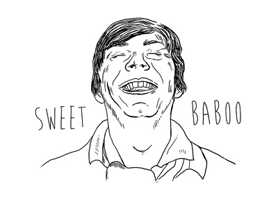 Sweet Baboo random illo illustration graphic design sweet baboo