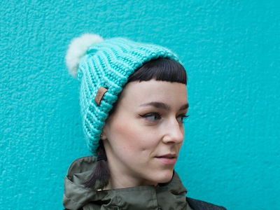FNH hat colours design knitting handmade product hat