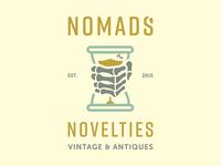 Nomads' Novelties Logo Concept