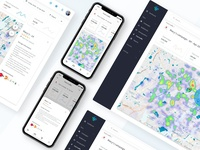 Foot Traffic Map for Advertising App