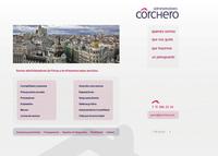 A. Corchero web site home