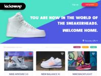 Kickswap - Sneaker Marketplace Concept
