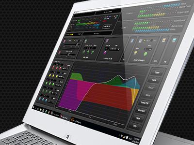 Professional Audio Device Configuration/Supervision App