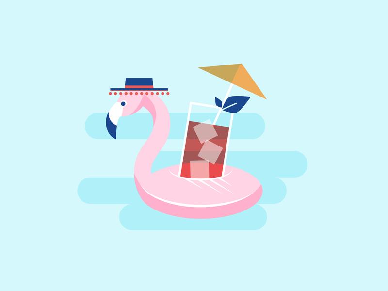 Pool Party fiesta mexico wedding invite destination wedding floatie flamingo pool pool party