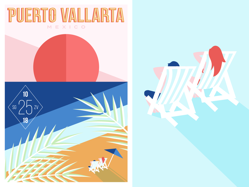 Wedding Poster lounging lounge sunset beach ocean puerto vallarta mexico poster wedding wedding poster wedding invite destination wedding