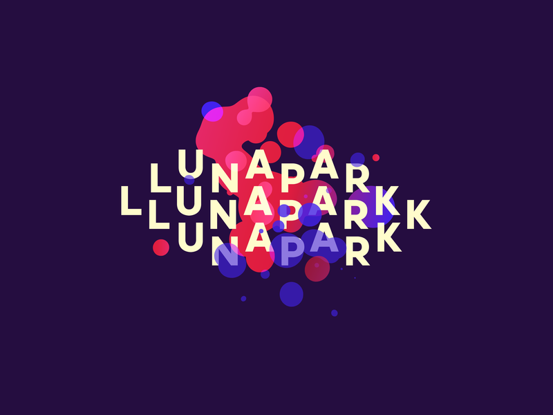 Lunapark Concept Logo entertainment logodesign logo lunapark