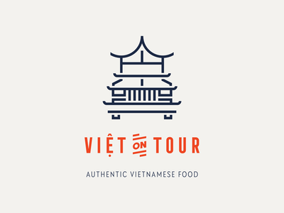 Viet On Tour logo food vietnamese foodtruck