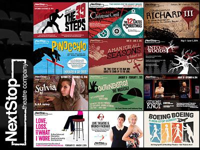 Nextstop postcards plays design postcards theatre