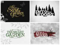 Theatre logos