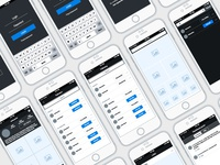 Photo app wireframes