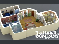 Three's Company Apartment