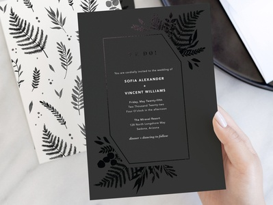 Garden | Wedding Invitation for Minted