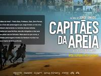Website Capitães da Areia