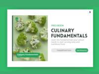 Culinary Fundamentals Popup Ad