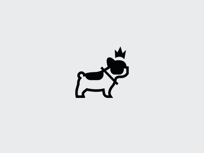 Doggie Icon. collar. perro animal symbol crown puppy pet icon dog