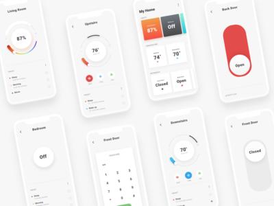 Daily UI - 021 Home Monitoring Dashboard