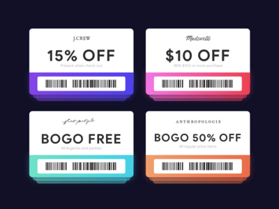 Daily UI 036 - Special offer app dailyui coupon app widget daily ui deal sale special offer