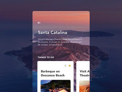 Daily UI - 044 Favorite ux ui interaction app design challenge places travel favorite dailyui daily ui