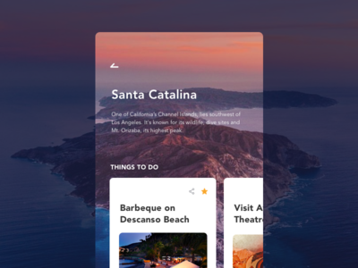 Daily UI - 044 Favorite ux ui interaction app design challenge places travel favorite dailyui daily ui