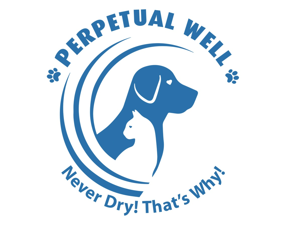 Perpetual Well Automatic Logo website vector web typography design branding