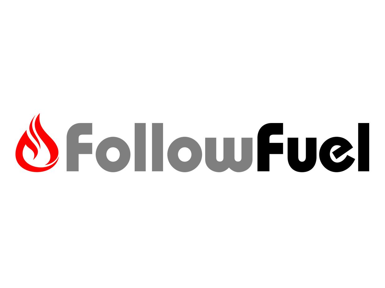 Follow Fuel Logo Design logo vector typography design branding