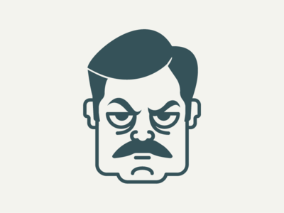 Ron Swanson mustache