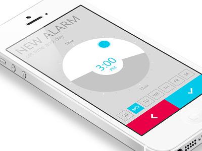Alarm Clock app / New Alarm alarm clock app application mobile iphone phone