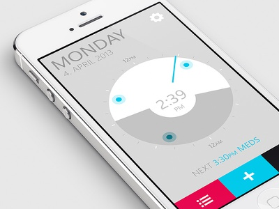 Alarm Clock App alarm clock app application mobile iphone phone
