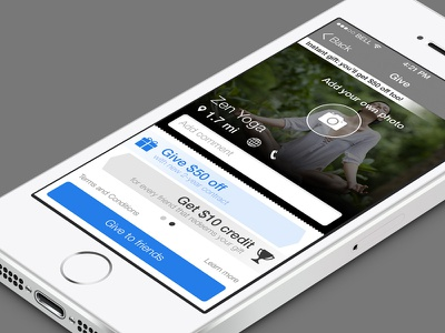 Kikbak App iphone app rewards offers gifts application ios ios7