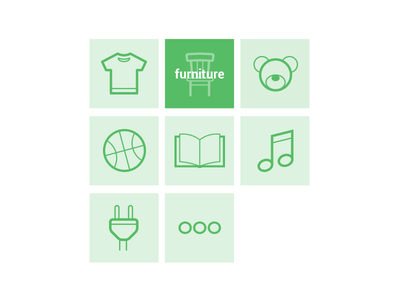Outline Icons outline icons categories shop eshop