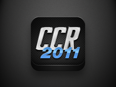 CCR icon icon cars app carbon chrome