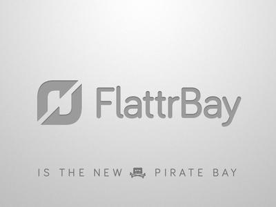FlattrBay flattr bay pirate piratebay torrent p2p sharing files piracy internet